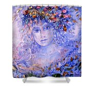 Spirit Of Winter Shower Curtain