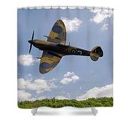 Spitfire Mk356 Shower Curtain