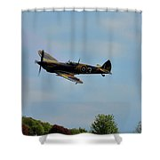 Spitfire Mk356 Swoop Shower Curtain