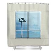 Spotlights Shower Curtain