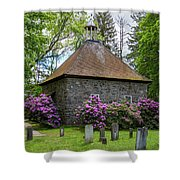Spring At The Crispell Memorial French Church Shower Curtain
