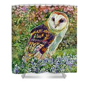 Spring Attraction Shower Curtain