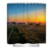 Spring Morning At 5.51 Shower Curtain