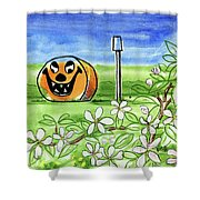 Spring-o-ween Shower Curtain