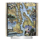 St. Augustine Shower Curtain