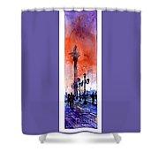 St. Mark's Square- Venice Shower Curtain