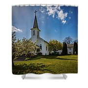 St. Paul's Catholic Church 2 Shower Curtain