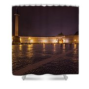 St. Petersburg Palace Square Shower Curtain