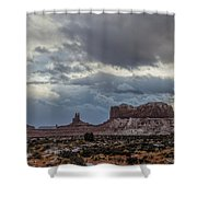 Stagecoach To Saddleback Shower Curtain