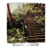 Stairway To Yesterday Shower Curtain