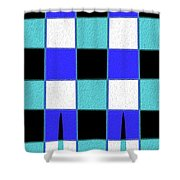 Stand Tall C Shower Curtain