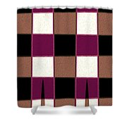 Stand Tall G Shower Curtain