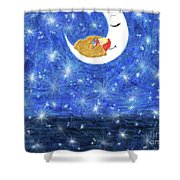 Stars On Earth Shower Curtain