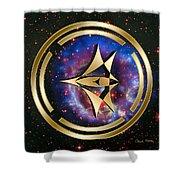 Starship Meridian Shower Curtain