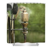 Steam Whistle Shower Curtain