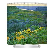 Steamboat Rock 01 Shower Curtain