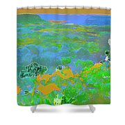 Steamboat Rock 03 Shower Curtain