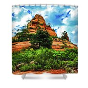 Sterling Pass 04-006 Shower Curtain