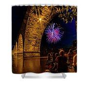 Stone Arch Bridge, July 4 Shower Curtain