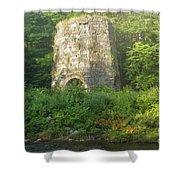 Stone Iron Furnace - Franconia New Hampshire Shower Curtain