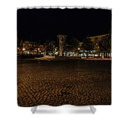 stora torget Enkoeping #i0 Shower Curtain by Leif Sohlman