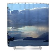 Stormy Inlet Shower Curtain