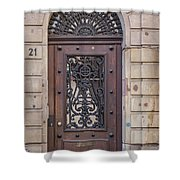 Strasbourg Door 11 Shower Curtain