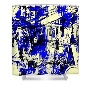 Strasbourg Shower Curtain