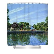 Straw Jack Carshalton Shower Curtain