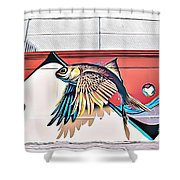 Street Art 15 Fc Shower Curtain