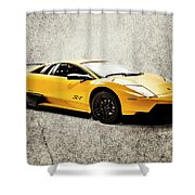 Street Shine Shower Curtain