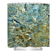 Structures  In Ice Two  Shower Curtain