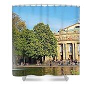 Stuttgart Opera House Shower Curtain
