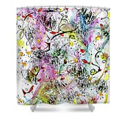 Summer Day By The Artist Catalina Lira Shower Curtain