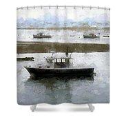 Summer On Cape Cod Xxxii Shower Curtain