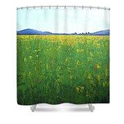 Summer Wild Field Shower Curtain