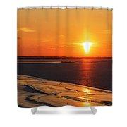 Sun Pillar 02 Shower Curtain by Rob Graham