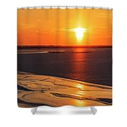 Sun Pillar 03 Shower Curtain by Rob Graham