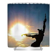 Sunblast Of Louisiana Shower Curtain