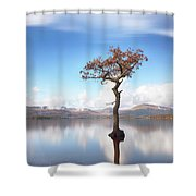 Sunny Afternoon On Loch Lomond Shower Curtain