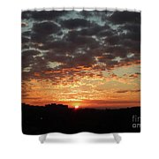 Sunrise 4 Shower Curtain