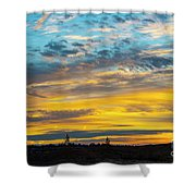 Sunrise At Beaumont Shower Curtain