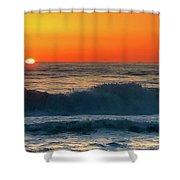 Sunrise First Day Shower Curtain
