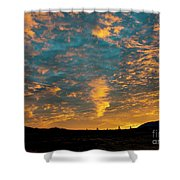 Sunrise In Beaumont,ca Shower Curtain