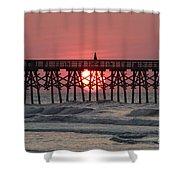 Sunrise Myrtle I Shower Curtain