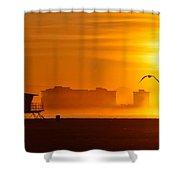 Sunrise On Coronado Shower Curtain