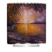 Sunrise On The Sea Shower Curtain