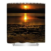 Sunrise Rathtrevor Beach 6 Shower Curtain