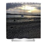 Sunset By Bucklands  Beach Shower Curtain