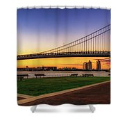 Sunset By The Ben Shower Curtain